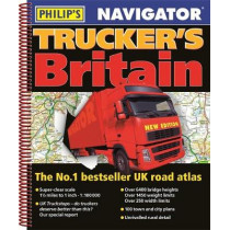 Philip's Navigator Trucker's Britain by Philip's Maps, 9781849074759