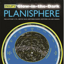 Philip's Glow-in-the-Dark Planisphere (Latitude 51.5 North): For use in Britain and Ireland, Northern Europe, Northern USA and Canada by Philip's Maps, 9781849074841