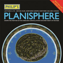 Philip's Planisphere (Latitude 51.5 North): For use in Britain and Ireland, Northern Europe, Northern USA and Canada by Philip's Maps, 9781849074858