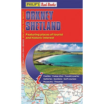 Philip's Orkney and Shetland: Leisure and Tourist Map 2020: Leisure and Tourist Map by Philip's Maps, 9781849075138
