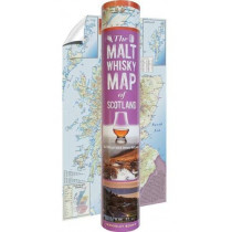 The Malt Whisky Map of Scotland (in a tube) by Neil Wilson, 9781849345040
