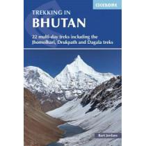 Trekking in Bhutan: 22 multi-day treks including the Lunana 'Snowman' Trek, Jhomolhari, Druk Path and Dagala treks by Bart Jordans, 9781852849191