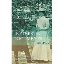 Letters and Documents: 1901-1925 by Rudolf Steiner, 9781855845701