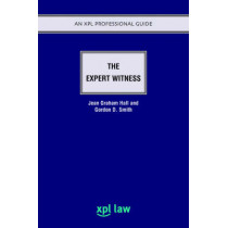 The Expert Witness by Jean Graham-Hall, 9781858113746