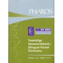 Tweetalige sakwoordeboek / Bilingual pocket dictionary by Pharos Dictionaries, 9781868901111