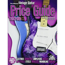 The Official Vintage Guitar Magazine Price Guide - 2018 by Alan Greenwood, 9781884883378