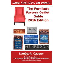 The Furniture Factory Outlet Guide, 2016 Edition by Kimberly Causey, 9781888229493