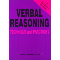 Verbal Reasoning: No. 2: Technique and Practice by Susan J. Daughtrey, 9781898696476