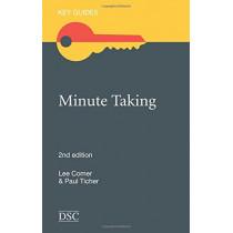 Minute Taking by Paul Ticher, 9781906294533