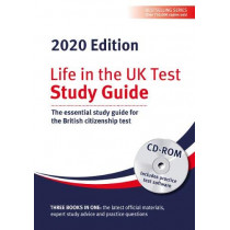 Life in the UK Test: Study Guide & CD ROM 2020: The essential study guide for the British citizenship test by Henry Dillon, 9781907389696
