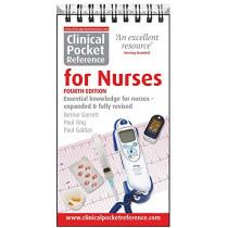Clinical Pocket Reference for Nurses by Bernie Garrett, 9781908725110