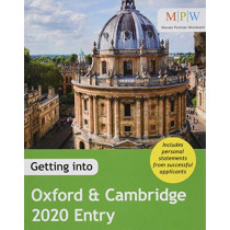 Getting into Oxford & Cambridge 2020 Entry by Mat Carmody, 9781911067986