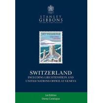 Switzerland Stamp Catalogue by Hugh Jefferies, 9781911304487