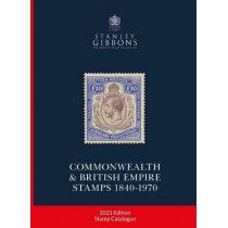 2021 COMMONWEALTH & EMPIRE STAMPS 1840-1970 by Hugh Jefferies, 9781911304784