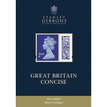 2021 Great Britain Concise Catalogue by Stanley Gibbons, 9781911304869