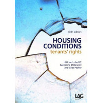 Housing Conditions: tenants' rights by Jan Luba, 9781912273423