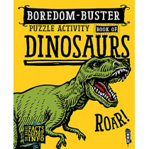 Boredom Buster Puzzle Activity Book of Dinosaurs by David Antram, 9781912537518