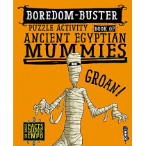Boredom Buster Puzzle Activity Book of Ancient Egyptian Mummies by David Antram, 9781912537525