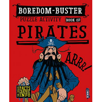 Boredom Buster Puzzle Activity Book of Pirates by David Antram, 9781912537532