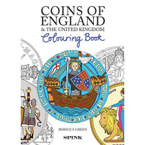 Coins of England Colouring Book by Rebecca Green, 9781912667406