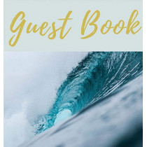 Guest Book with blank pages (Hardcover): Guest book, air bnb book, visitors book, holiday home, comments book, holiday cottage, rental, vacation guest book, Guest Comment Book, Visitor Comments Book by Lulu and Bell, 9781912817283