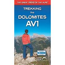 Trekking the Dolomites AV1 by Andrew McCluggage, 9781912933082