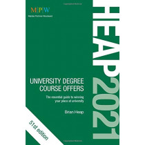 HEAP 2021: University Degree Course Offers by Brian Heap, 9781912943289