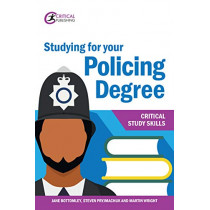 Studying for your Policing Degree by Jane Bottomley, 9781913063177