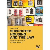 Supported Housing and the Law by Sue Baxter, 9781913648374