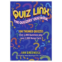 Quiz Linx: The Quizzers Quiz Book by Ian Greensill, 9781916228559