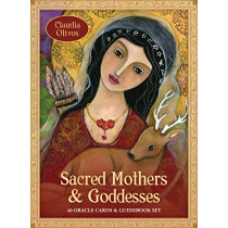 Sacred Mothers & Goddesses Oracle: 40 Oracle Cards & Guidebook Set by Claudia Olivos, 9781925538977