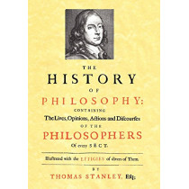 History of Philosophy (1701) by Thomas Stanley, 9781933993096