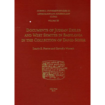 CUSAS 28: Documents of Judean Exiles and West Semites in Babylonia in the Collection of David Sofer by Cornelia Wunsch, 9781934309575