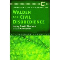 Walden and Civil Disobedience by Henry David Thoreau, 9781945186387