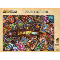 Hearthstone: Card Back Puzzle by Blizzard Entertainment, 9781945683848