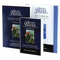 Story of the World, Vol. 2 Bundle: History for the Classical Child: The Middle Ages; Text, Activity Book, and Test & Answer Key by Susan Wise Bauer, 9781945841736