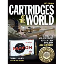 Cartridges of the World: A Complete and Illustrated Reference for Over 1,500 Cartridges by Frank C. Barnes, 9781946267733