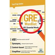GRE Wordlist: 491 Essential Words by Vibrant Publishers, 9781946383402