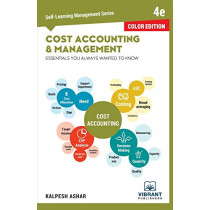 Cost Accounting and Management Essentials You Always Wanted To Know (Color) by Vibrant Publishers, 9781949395266