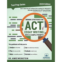 Winning Strategies For ACT Essay Writing: With 15 Sample Prompts by Vibrant Publishers, 9781949395457