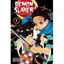 Demon Slayer: Kimetsu no Yaiba, Vol. 1 by Koyoharu Gotouge, 9781974700523