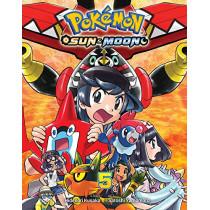Pokemon: Sun & Moon, Vol. 5 by Hidenori Kusaka, 9781974706495