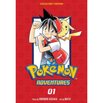 Pokemon Adventures Collector's Edition, Vol. 1 by Hidenori Kusaka, 9781974709649