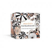 Johanna Basford Enchantments: Colorable Gift Tags with Metallic Cord by Johanna Basford, 9781984825957
