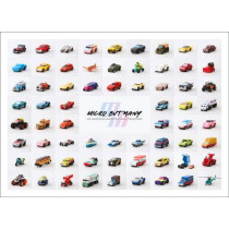 Micro but Many: an unofficial Micro Machines collection by Bitmap Books, 9781999353360