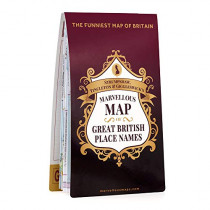 S T & G's Marvellous Map of Great British Place Names, 9781999784546