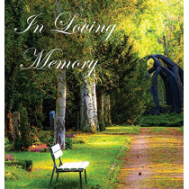 In Loving Memory Funeral Guest Book, Celebration of Life, Wake, Loss, Memorial Service, Condolence Book, Church, Funeral Home, Thoughts and in Memory Guest Book (Hardback) by Lollys Publishing, 9781999882907