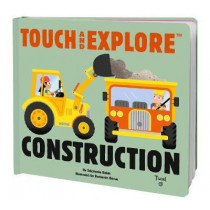 Touch and Explore Construction by Stephanie Babin, 9782408007942