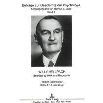 Willy Hellpach: Beitraege Zu Werk Und Biographie by Walter Stallmeister, 9783631420218