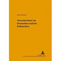 Verweiswoerter Im Deutschen Und Im Polnischen by Janusz Taborek, 9783631524282